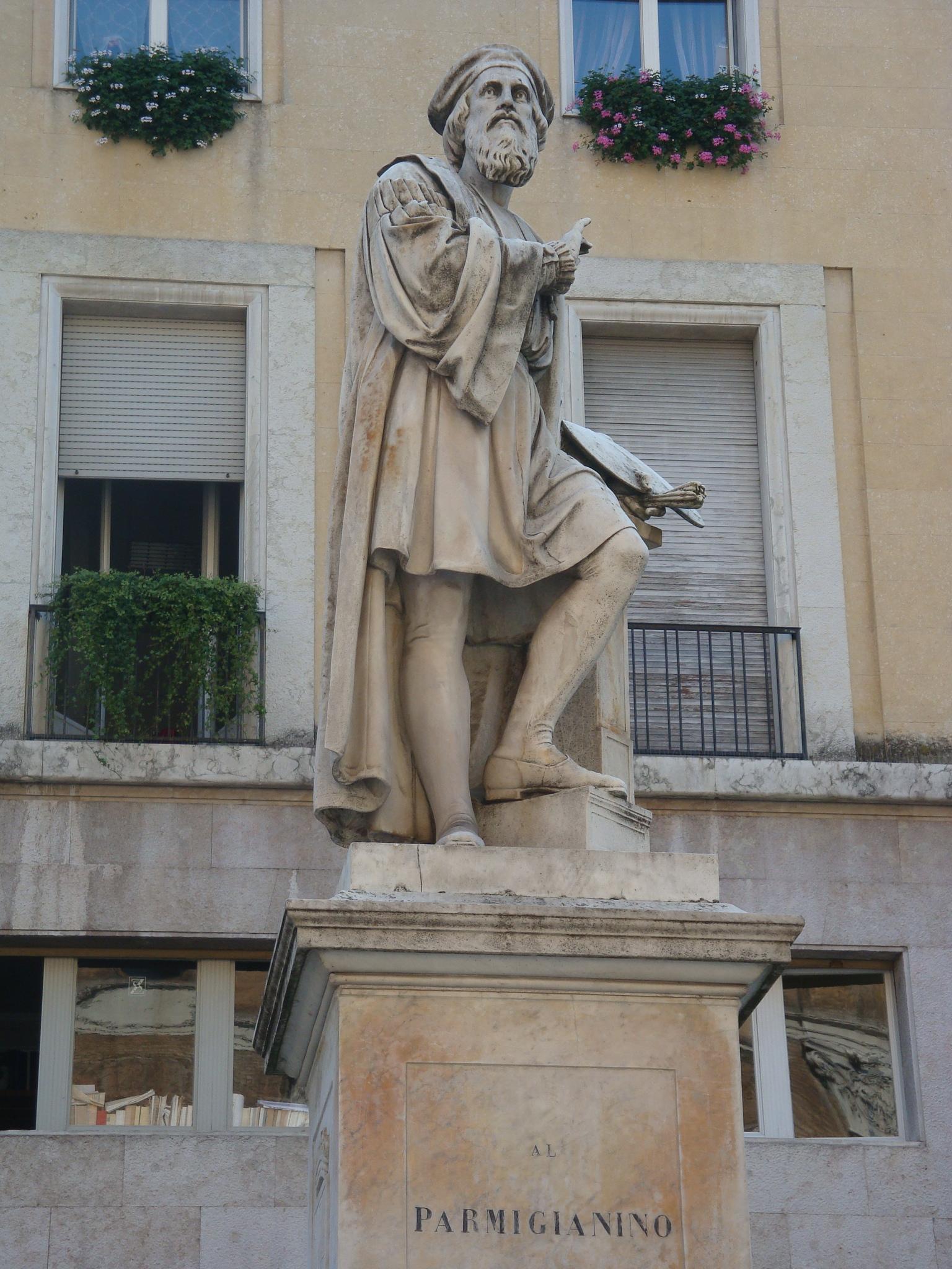 Parmiggnino, Parma's most famous native-born painter