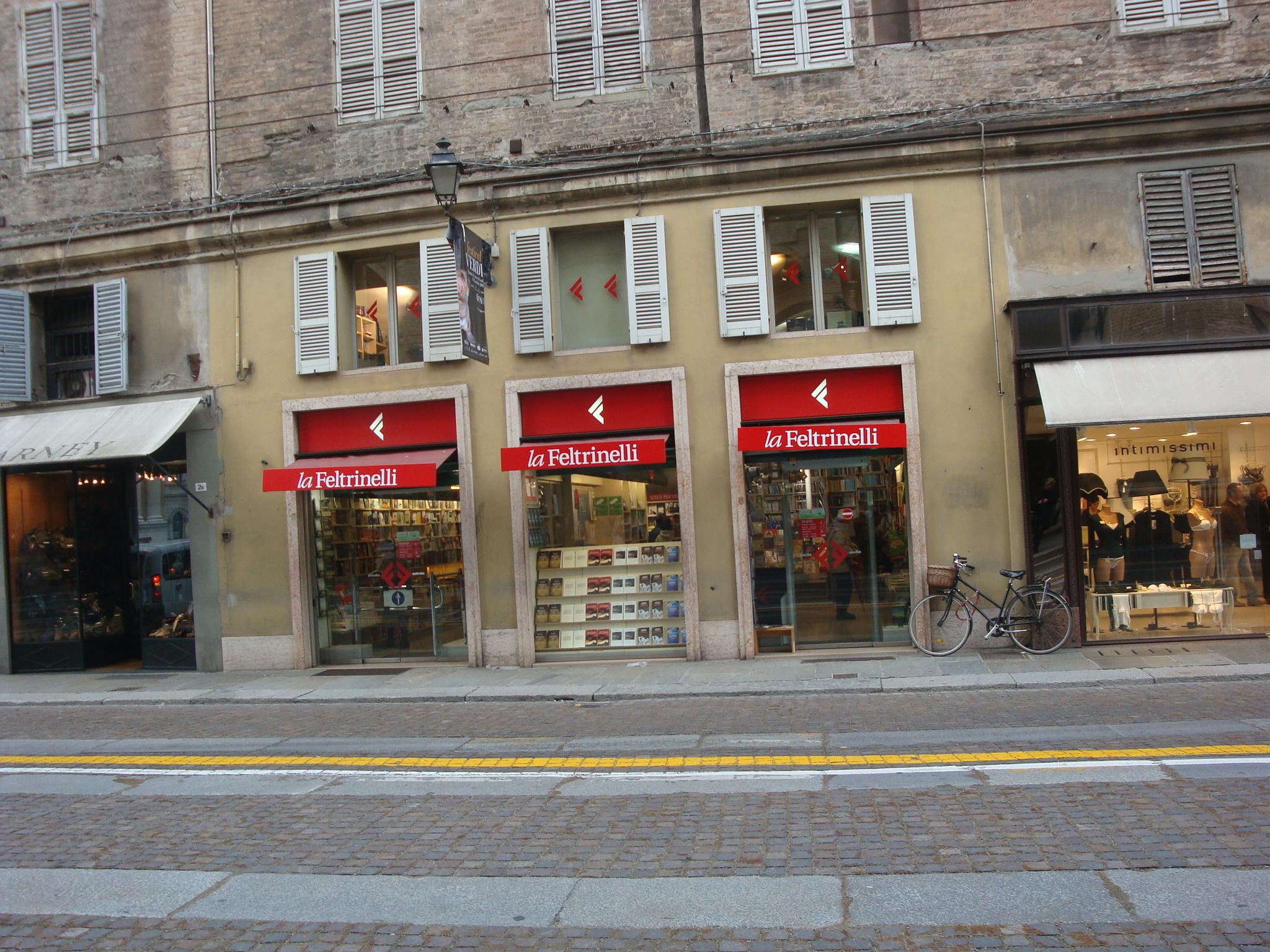 Fetrinelli, the Italian Barnes & Noble