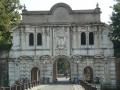 Entrance to the Cittadella park